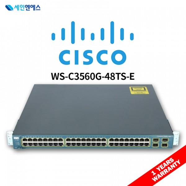 [중고] WS-C3560G-48TS-E Switch 시스코 스위치 국내발송