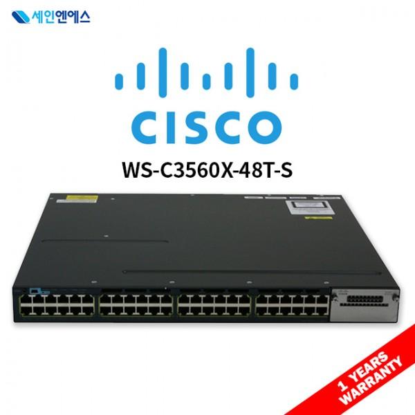 [중고] WS-C3560X-48T-S Switch 시스코 스위치 국내발송