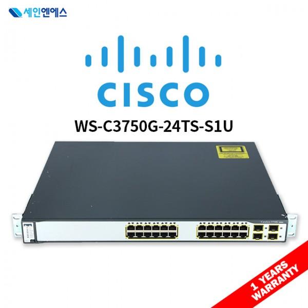 [중고] WS-C3750G-24TS-S Switch 시스코 스위치 국내발송