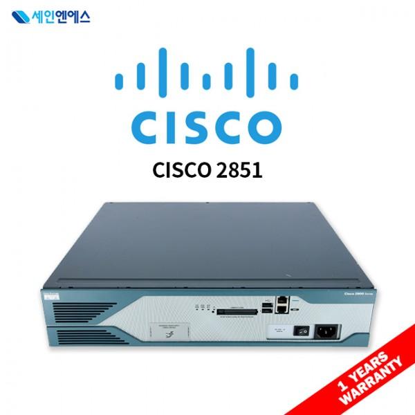 [중고] CISCO2851 Router 시스코 라우터 재고보유 국내발송