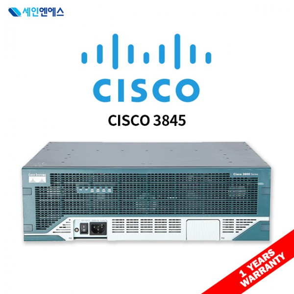 [중고] CISCO3845 Router 시스코 라우터 재고보유 국내발송