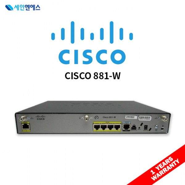 [중고] CISCO 881W Router 시스코 라우터